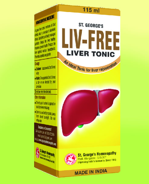 LIV FREE (Liver Tonic)-115ml